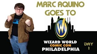 Marc Aquino at Wizard World Philly Comic Con 2015: Day 1