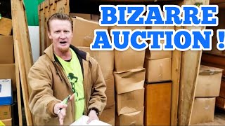 MOST BIZARRE AUCTION EVER I Bought Abandoned Storage Unit Locker Opening Mystery Boxes Storage Wars