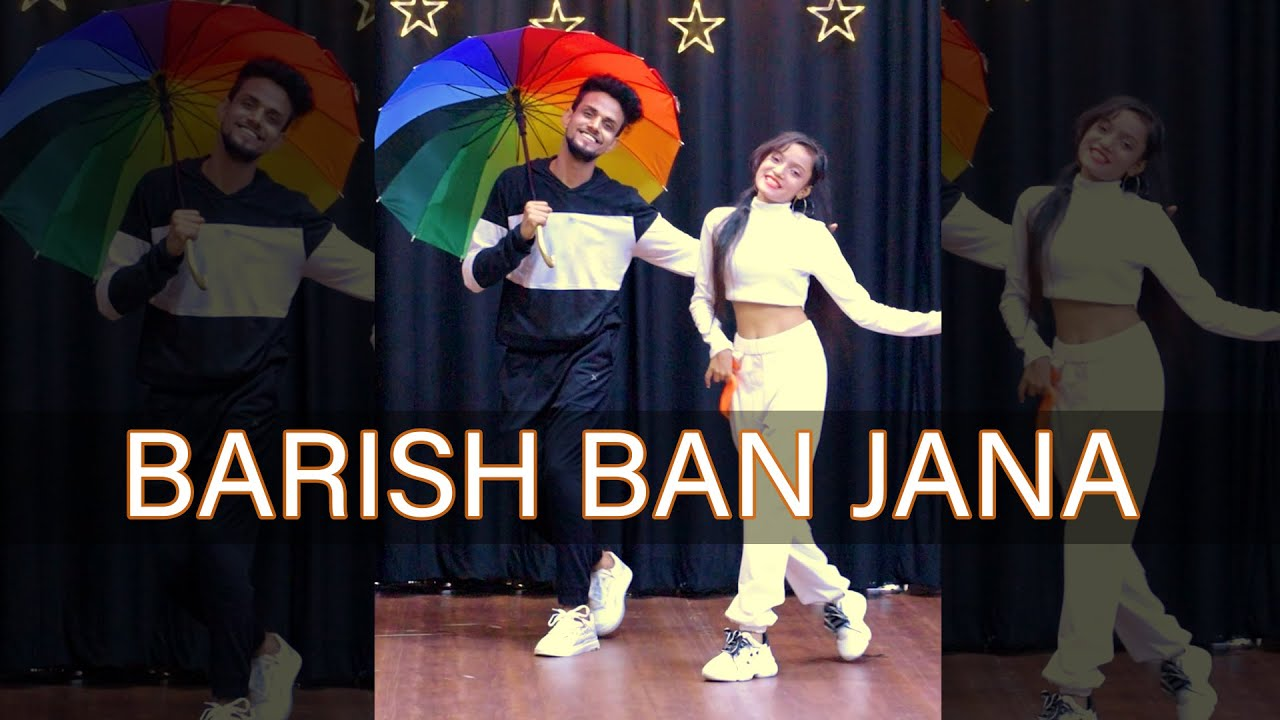 Barish Ban Jana #Shorts Dance Cover | Hina K, Shaheer S | Bollywood Dance Choreography