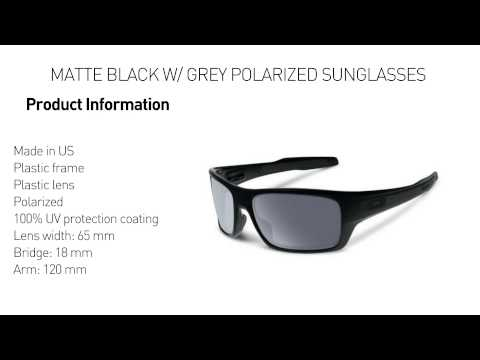 eb50b0717d0 Oakley Turbine Sunglasses Review - YouTube