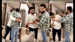 Parmish Verma fun with Brother Sukhan Verma