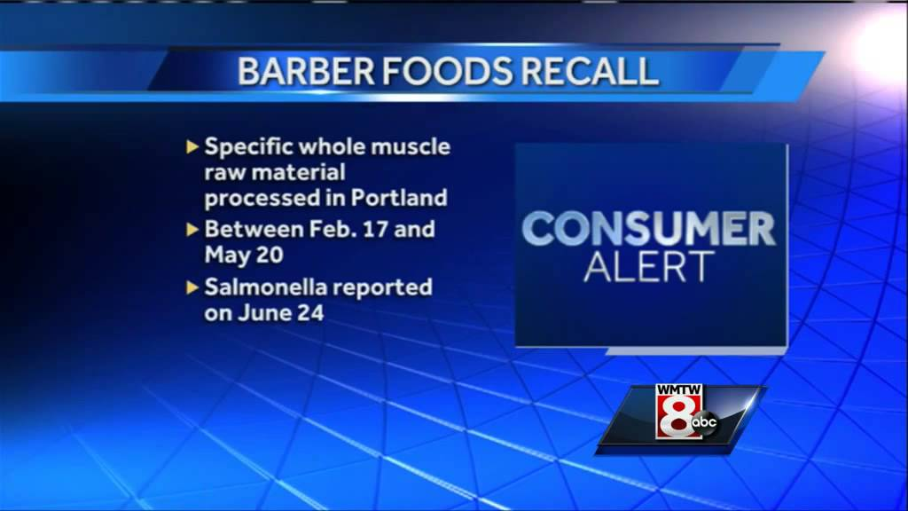 Barber Foods Recalls 17 Million Pounds Of Chicken Products Youtube