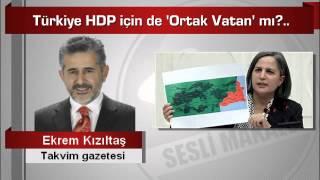 Ekrem Kızıltaş  Türkiye HDP için de 'Ortak Vatan' mı
