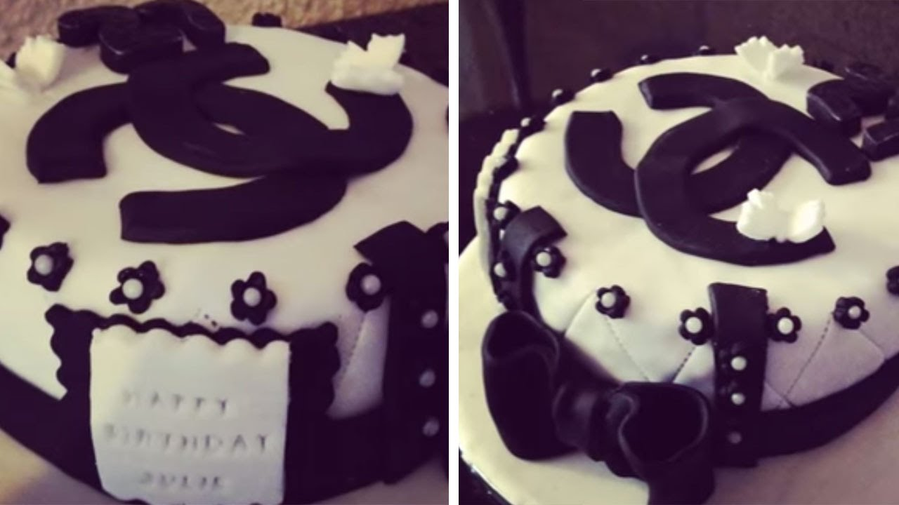 Cake Chanel Cake Design Youtube