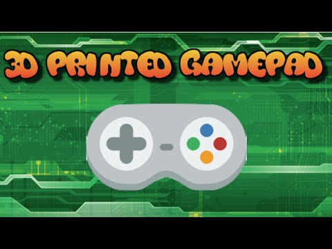 3D Printed Gamepad for the Makey Makey