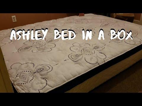 ashley-chime-mattress-|-12-inch-hybrid-innerspring-|-unboxing-|-memory-foam-innerspring