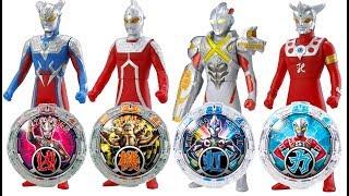 奧特曼召喚怪獸大作戰  鹹蛋超人玩具 超人力霸王羅布 ultraman toys ウルトラマン  おもちゃ
