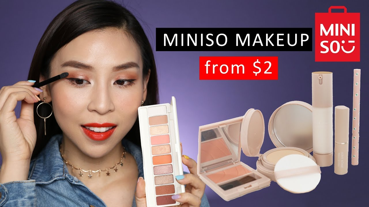 a44af6abbb4 Trying Cheap Miniso Makeup from $2! - Vloggest