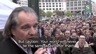 Andreas Popp @ Monday Demonstration ENGLISH SUBTITLES