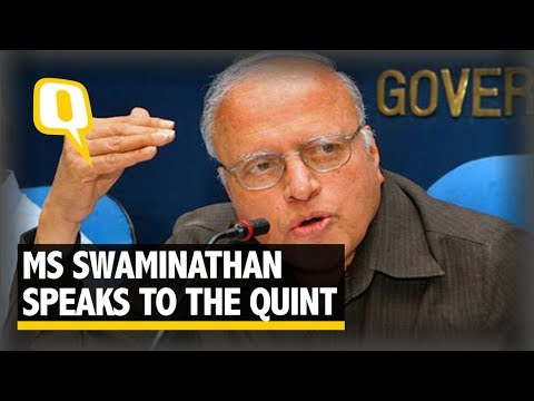 Farmers Need Stable Income, Not Loan Waiver, Says MS Swaminathan - The Quint