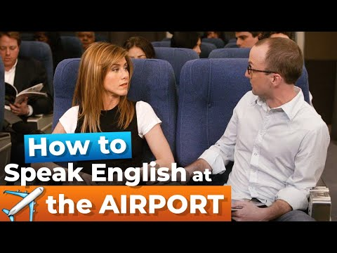 Learn Airport English Vocabulary | Fluent English For TRAVEL With TV Series