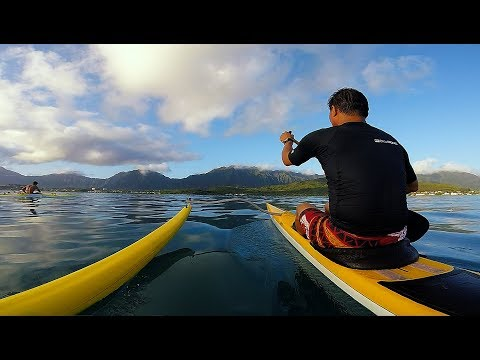 Glassy Day On Da Bay, Kaneohe, Hawaii (GoPro Session)