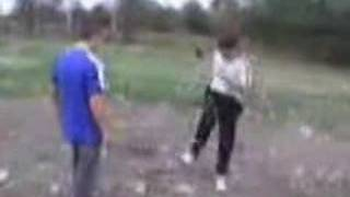 Smart guy owns dumb guy in a fight thumbnail