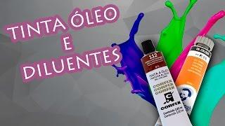 DICAS DE PINTURA - TINTA ÓLEO E DILUENTES