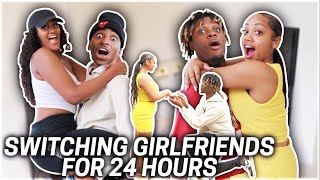 SWITCHING GIRLFRIENDS FOR 24 HOURS WITH FUNNYMIKE & JALIYAH!!!