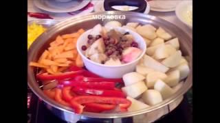 Презентация посуды iCook от Амвей (Amway) Мульти-ВОК + вегетарианский плов + копчение