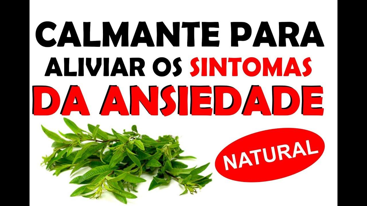 1adf5accd CALMANTE NATURAL Para Diminuir os SINTOMAS da Ansiedade - Chá Para Ansiedade