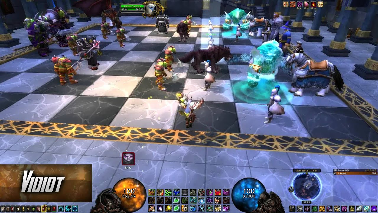 How to Solo the Karazhan Chess Event in World of Warcraft (5 Minute Video)
