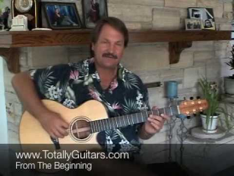From The Beginning acoustic guitar lesson