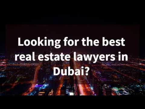 Real estate lawyer Dubai