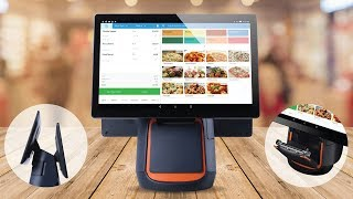 All in one pos system from ehopper includes high definition, 14-inch touch screen register, build-in speed receipt printer, robust and durable s...