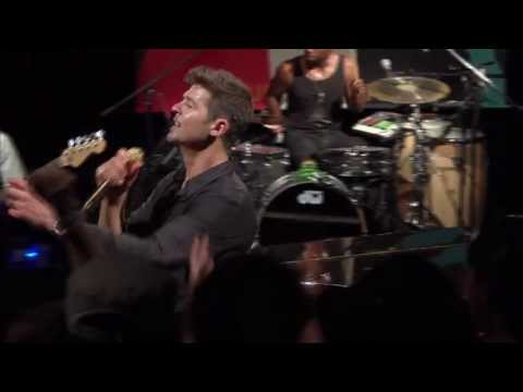 "Robin Thicke - ""Wanna Love You Girl"" live from Interscope Introducing"