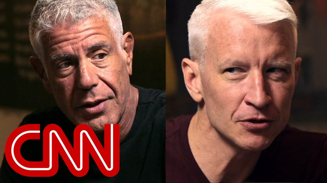 Anderson Cooper's tribute to his friend Anthony Bourdain image