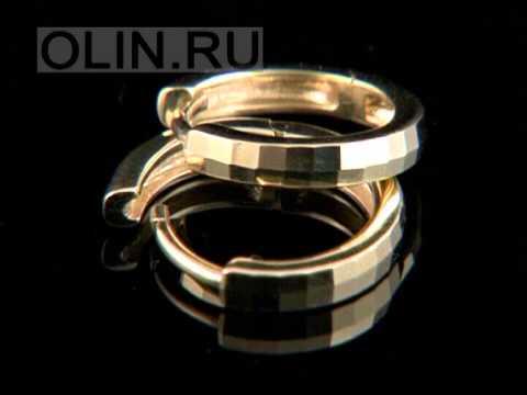 Актуальные золотые серьги-кольца конго можно купить в интернет магазине алмаз-холдинг.