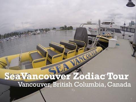 SeaVancouver Vancouver Zodiac Tour Canada
