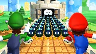 Mario Party 9 Minigames - Mario Vs Wario Vs Peach Vs Toad (Master Difficulty) Cpu
