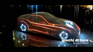 Ferrari California T - VIDEO MAPPING 360° - GDL UAE