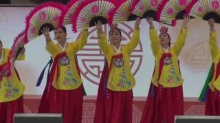 부채춤, 채순자무용단, 아마추어예술단체