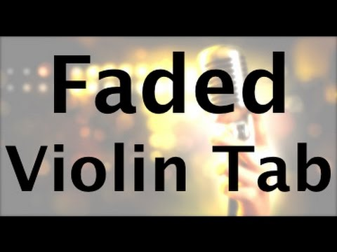 Learn Faded by Alan Walker on Violin - How to Play Tutorial