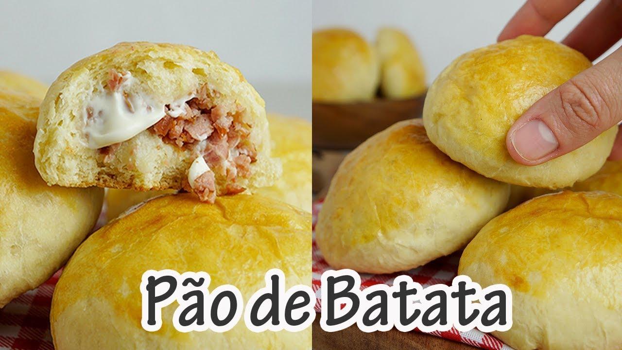 Pão De Batata Recheado I Receitas E Temperos Youtube