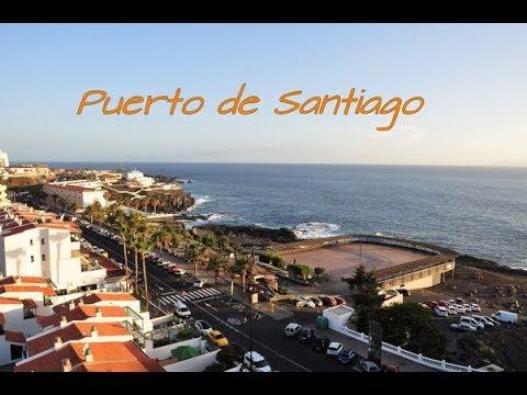 Puerto de Santiago - Tenerife 🌅⛵🌊