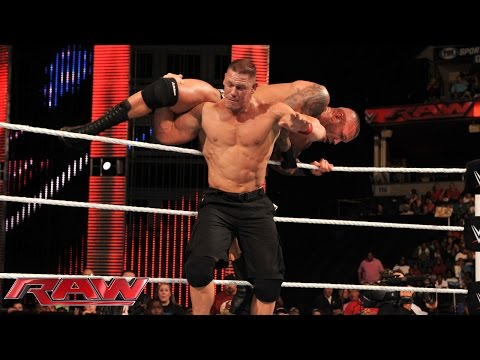 John Cena vs. Randy Orton: Raw, Sept. 22, 2014