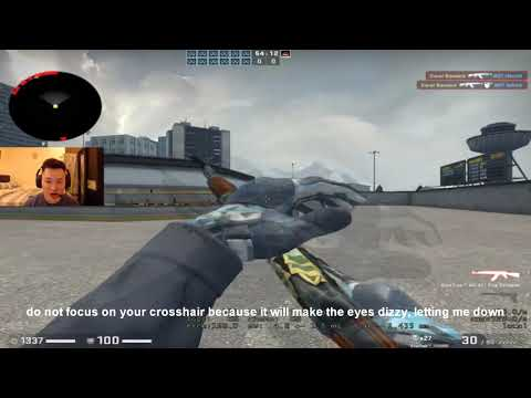 TIPS TO CONTROL YOUR CSGO AIM SPRAY BY BNTET!