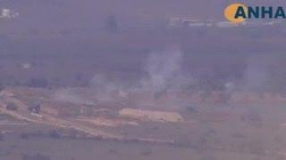 Территория Сирии снова под обстрелом турецкой артиллерии