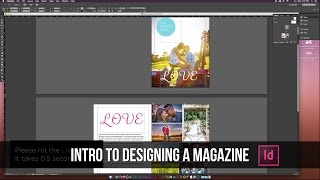 How to Design a Magazine in Indesign CC Tutorial