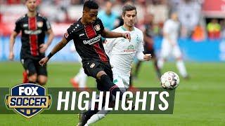 Bayer Leverkusen vs. Werder Bremen | 2019 Bundesliga Highlights