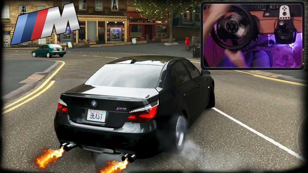 Download BMW M5 E60 - DRIFT| Forza Horizon 4 (STEERING WHEEL CAM - Logitech G27) HD1080p60
