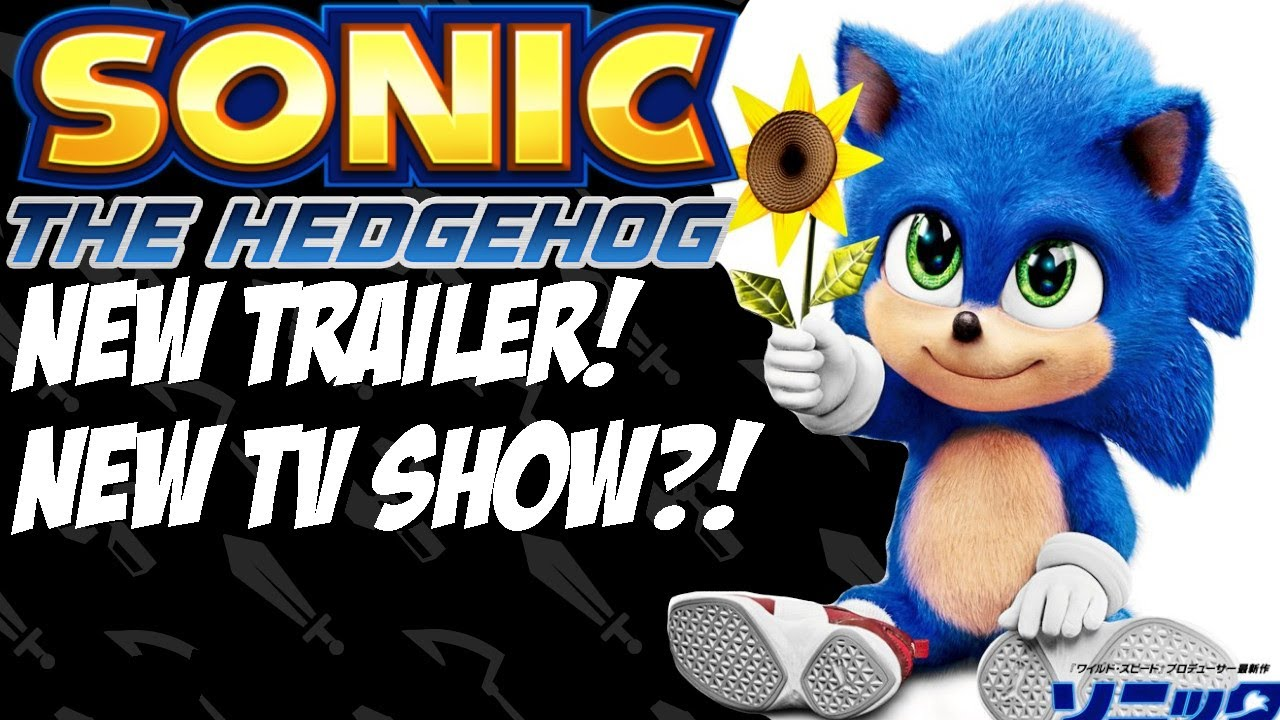 Sonic The Hedgehog Movie Baby Sonic New Trailer Poster No Shoes New Sonic Tv Show Coming Youtube