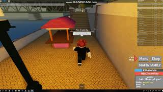 Tutorial how to join Mafia Family in Chicago 1949 Roblox