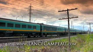 Trains of Canada HD (Video #490) www_LanceCampeau_com
