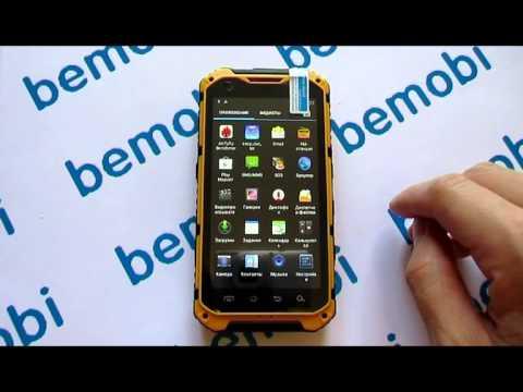 Видео обзор противоударного телефона Land Rover A9