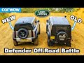 New Vs Old Land Rover Defender: Up Hill Drag Race & Off Road Battle!