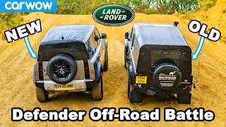 New vs Old Land Rover Defender: Up-Hill DRAG RACE & Off-Road Battle!