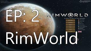 RimWorld - Mountain Mining (EP:2)