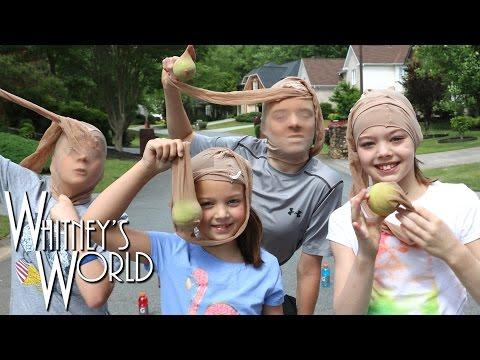 Pantyhose Bowling | Girls vs Boys! | Whitney Bjerken