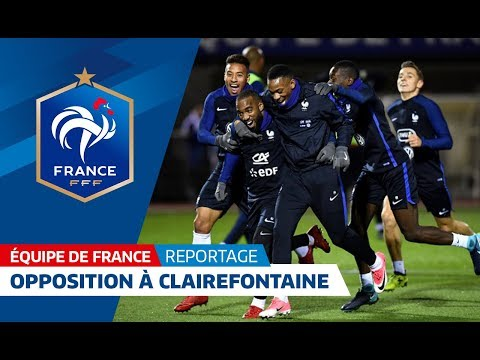 Equipe de France : Entrainement à Clairefontaine, reportage I FFF 2017